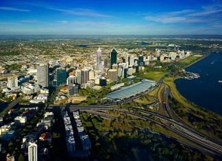 Perth City na Austrália