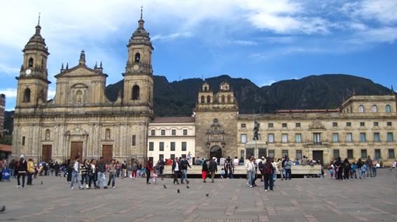 Plaza Bolívar, Bogotá, Colômbia