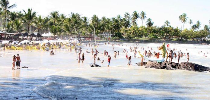 Praia de Batuba em Ilhéus