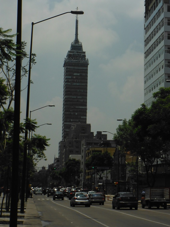 Torre Latinoamericana, Cidade do México