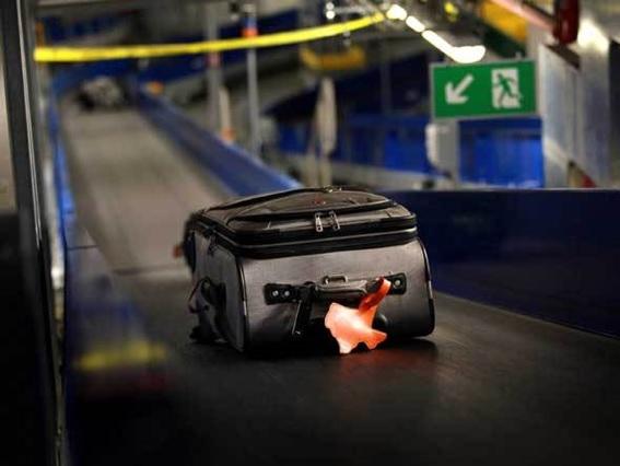 bagagem extraviada