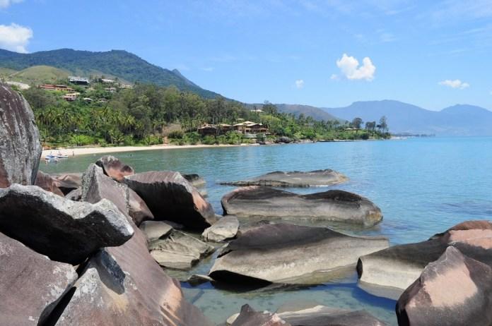 Praia da Pedra do Sino, Ilhabela - Brasil