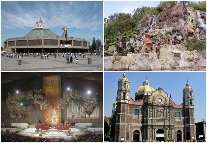 Basílica de Guadalupe na Cidade do México