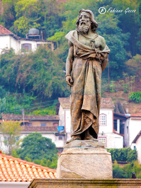 Estátua de Tiradentes em Ouro Preto
