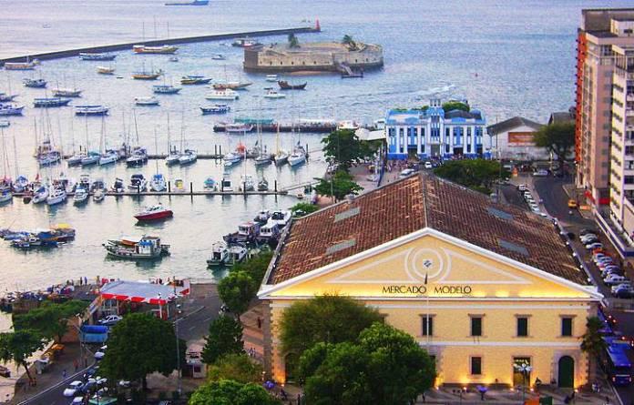 Foto do Mercado Modelo em Salvador