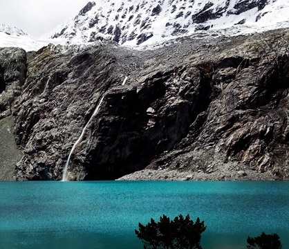 Laguna 69 no Norte do Peru