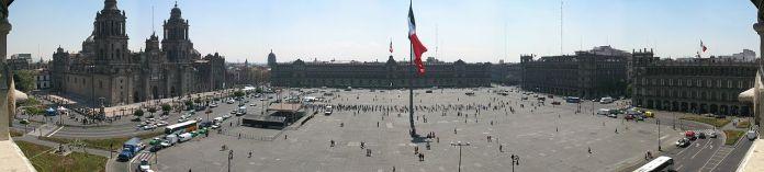 Praca da Constituicao na Cidade do Mexico