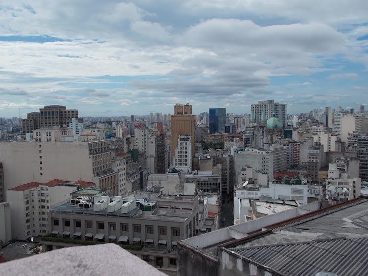 Vista da Cidade de São Paulo pelo Edifício Martinelli