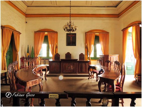 Salão da Câmara Municipal de Mariana