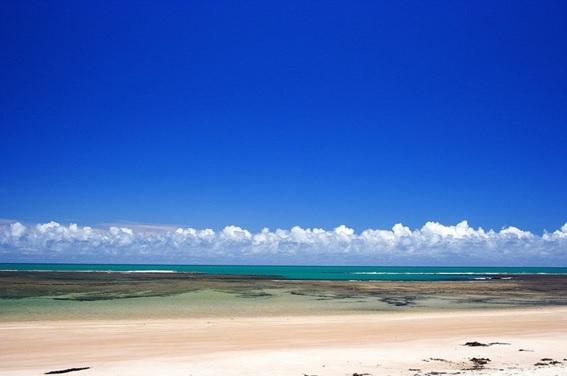 Praia Ponta de Itaquena em Trancoso