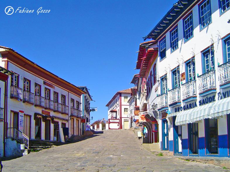 Rua da Quitanda - Centro de Diamantina