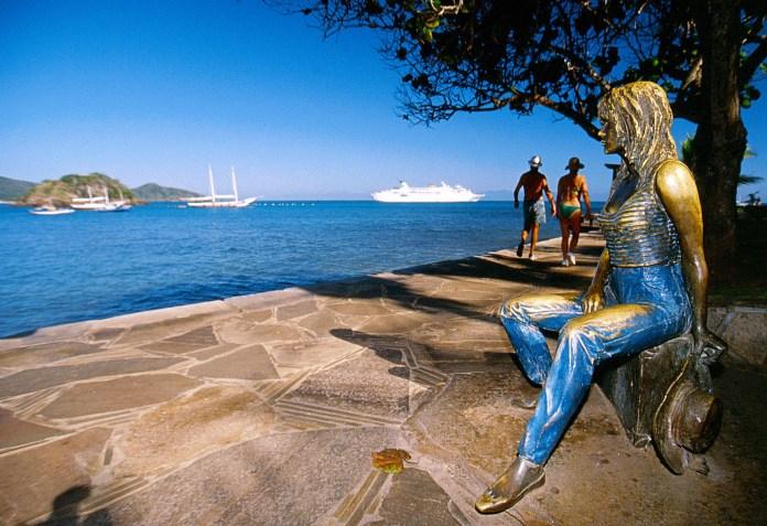 Foto da Estátua de Brigitte Bardot