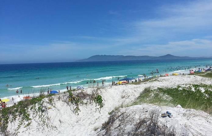 Foto das Dunas de Cabo Frio