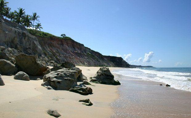 Praia do Rio da Barra em Arraial d'Ajuda