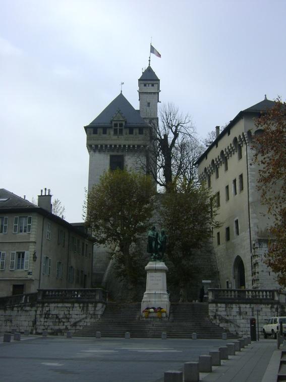 Château des ducs de Savoie, em Chambéry