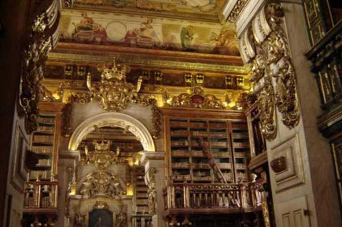 Foto da Biblioteca da Universidade de Coimbra