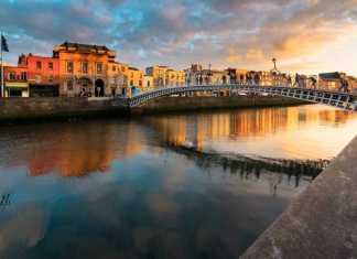 Paisagem da Irlanda