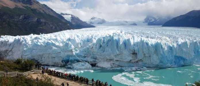 Foto do Glaciar Perito Moreno
