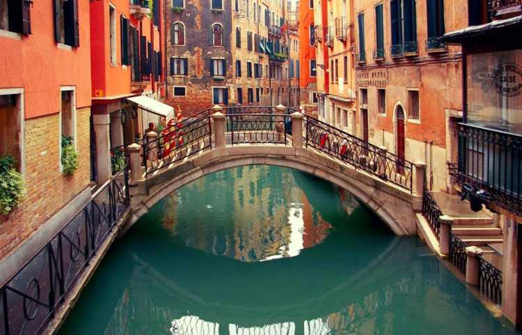 Foto incrível de Veneza