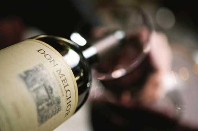 Garrafa de vinho Don Melchon