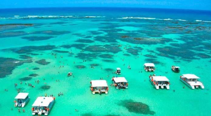 Piscinas naturais de Maragogi – Alagoas