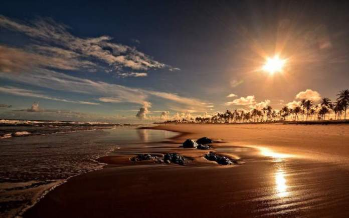 Ponta de Castelhanos na Ilha de Boipeba é uma das melhores praias da Bahia