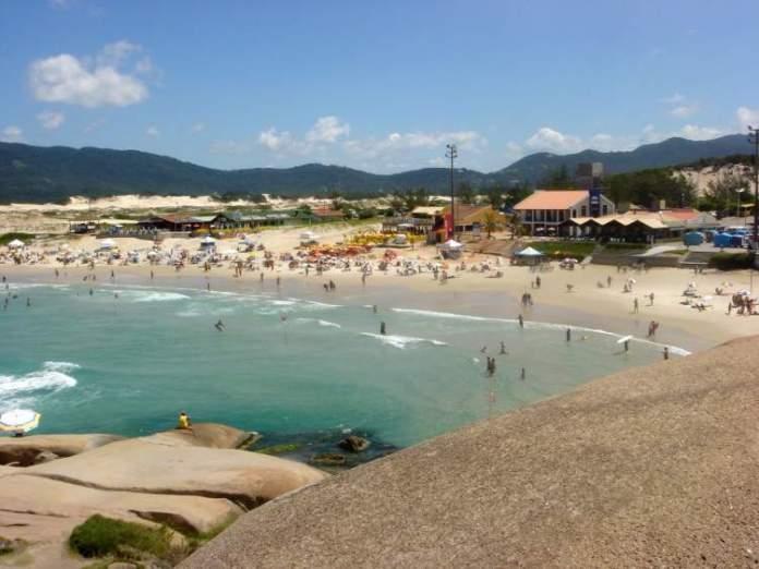 Praia da Joaquina em Florianópolis – Santa Catarina