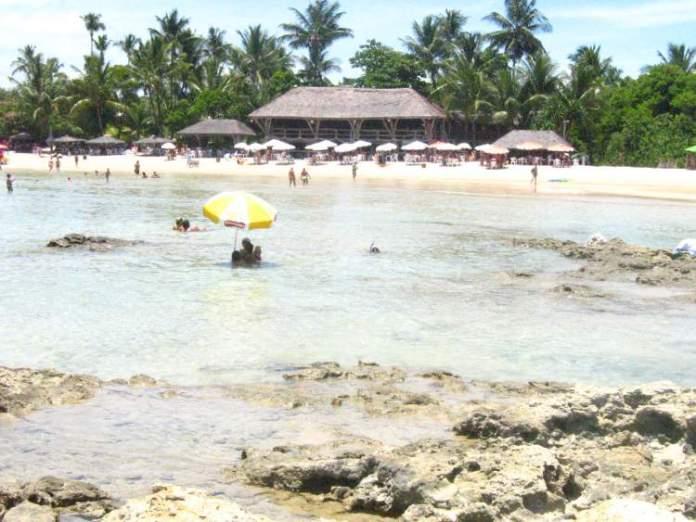 Quarta Praia no Morro de São Paulo é uma das melhores praias da Bahia