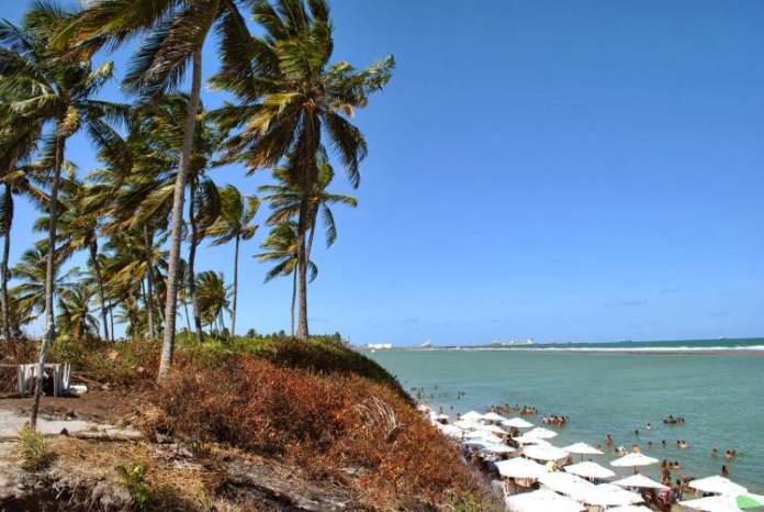 Praia da Vila de Porto de Galinhas em Ipojuca / Pernambuco