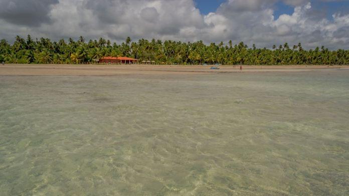 Praia Burgalhau em Maragogi, Alagoas