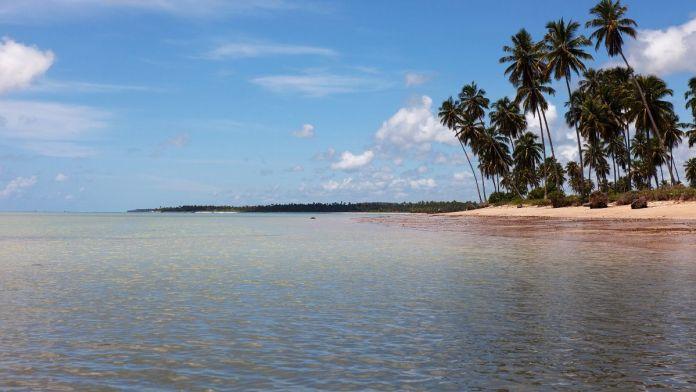 Praia de Patacho é uma das praias mais paradisíacas do nordeste