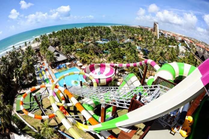 Beach Park no Ceará é um dos lugares mais divertidos para viajar com crianças