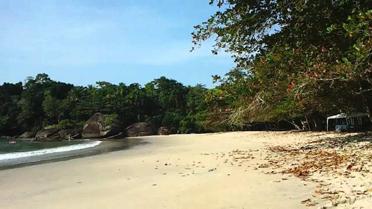 Praia do Félix em Ubatuba