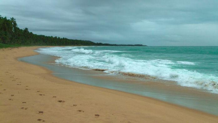 Praia da sereia em Maceió, Alagoas.