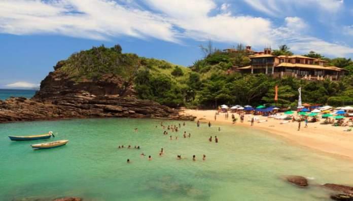 Búzios no Rio de Janeiro é uma das praias mais bonitas do Brasil