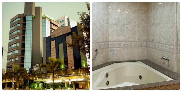 Holiday Inn Porto Alegre – Porto Alegre, RS tem banheira de hidromassagem