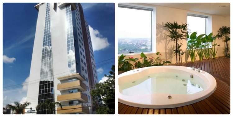 Hotel Mercure Manaus – Manaus, AM tem banheira de hidromassagem