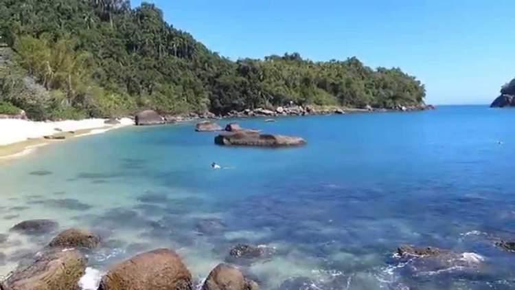 Ilha das Couves em Ubatuba - São Paulo é uma das praias mais bonitas do Brasil