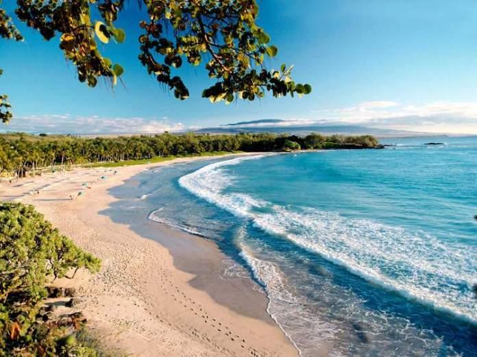 Kauna'oa Beach, Big Island praias mais lindas do Havaí