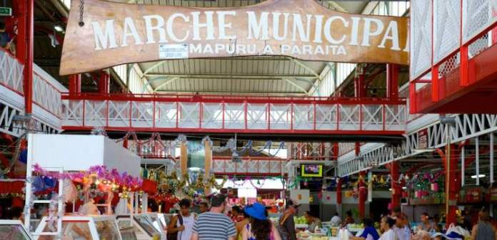 Marché de Papeete (Mercado Central) Tahiti