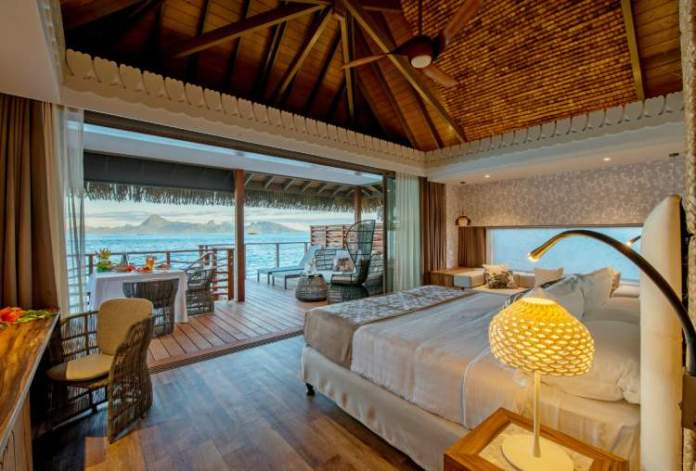 Overwater Bungalows do Hotel Intercontinental dois