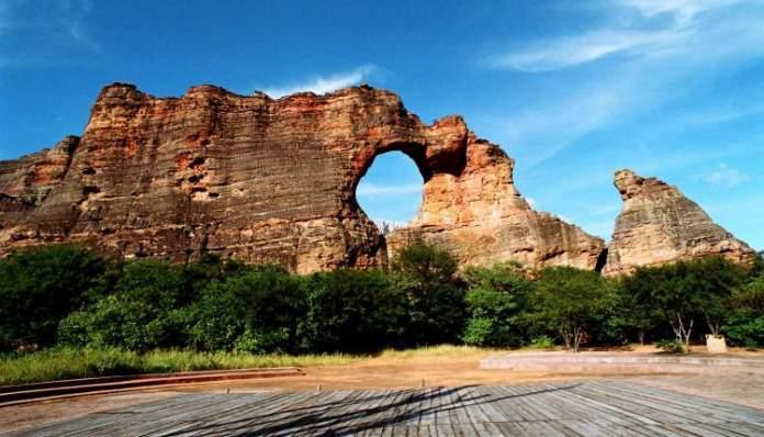 Parque Nacional Serra da Capivara no Piauí