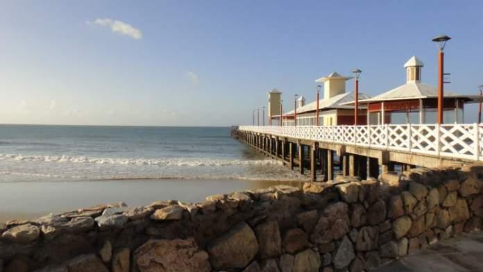 Praia de Iracema é uma das praias mais bonitas de Fortaleza
