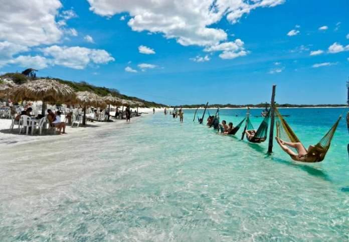 Praia de Jericoacoara (Ceará) é um dos destinos românticos para o fim de semana