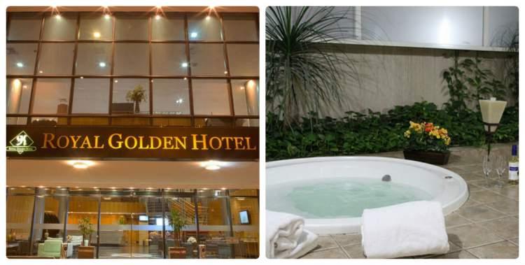 Royal Golden hotel - Belo Horizonte -MG tem banheira de hidromassagem