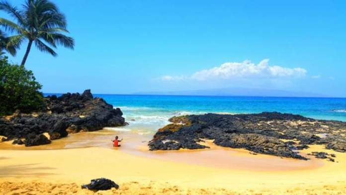 Secret Beach, Maui praias mais lindas do Havaí