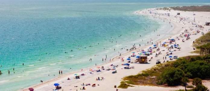 Siesta Key é uma das Melhores praias da Flórida