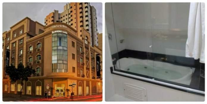 Slaviero Conceptual Rockefeller – Curitiba, PR tem banheira de hidromassagem