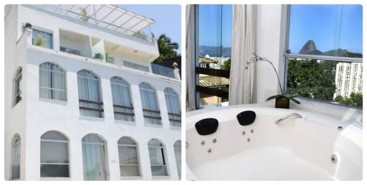The Villa – Rio de Janeiro, RJ tem banheira de hidromassagem