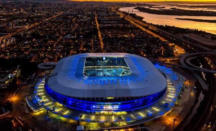 Tour pela Arena do Grêmio é um dos passeios em Porto Alegre